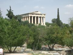 ヘファイストス神殿は落ち着いていて保存状態が良い