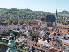 チェコの旅 (その2)チェスキー・クルムロフ