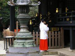 早朝の香取神宮参拝