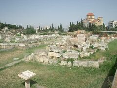 ケラミコスの遺跡は静寂さが覆う
