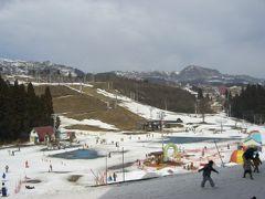 上越国際スキー 雪がない編