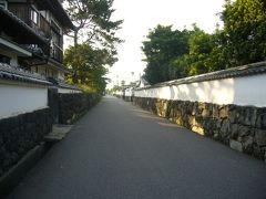 萩市内を早朝レンタル自転車で駆け巡る