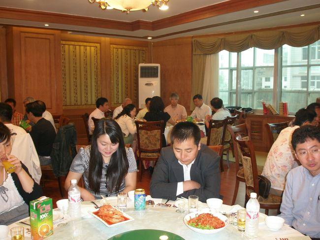 2007年07月01日(日)、延辺日本人会夏の懇親会が開催されました。懇親会では会長及び会計監査の引継ぎ、感謝状授与式もありました。