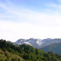 白川郷からの帰路は 【白山スーパー林道】 で