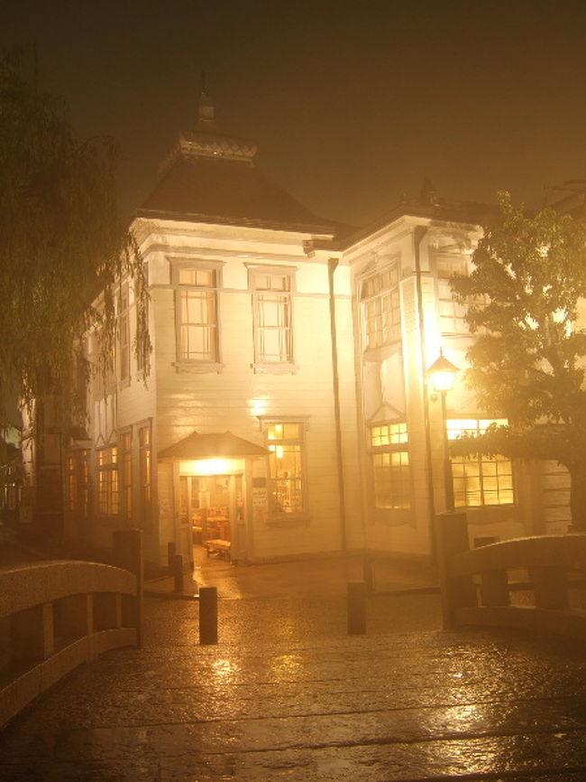 倉敷美観地区、夜のライトアップ散策。<br />昼とはまた違った一面が見れて、<br />コチラも素敵です。