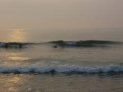 早朝の太東岬