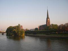 2006年10月旅行 スロベニア,クロアチア,ボスニア,モンテネグロドライブ1-フランクフルトでの1泊 スロベニアへ