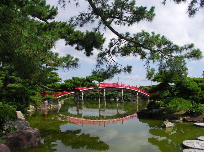 中津万象園に行きました。<br />http://www.marugame.or.jp/shoukai/banshou/<br />