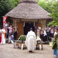 日本唯一漬物祖神・萱津神社の香の物祭