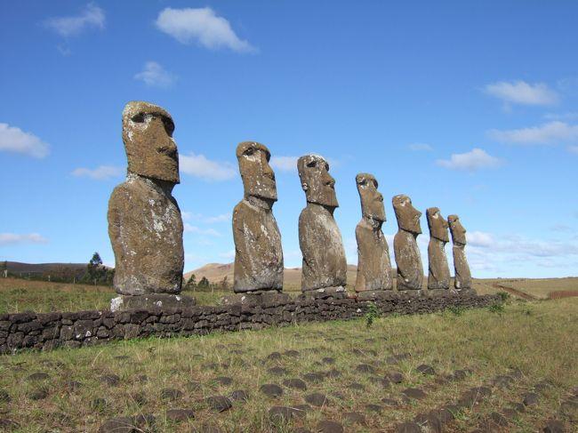 一生に一度のハネムーン。<br />ボラボラ島ついでにイースター島も行っちゃえ!<br />生のモアイに会いに行きました。