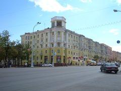 ミンスクで一番華やかなエリア。