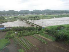 上越新幹線からの風景