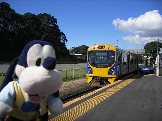 グーちゃんだよ。<br />ロトルアから戻ったグーちゃんは<br />街をぶらつき<br />急に電車にの乗ってみようと思ったの。