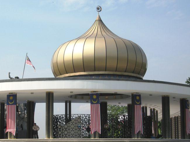 9月20日の旅行写真の続きです。国立博物館見学の後、国家記念碑を見学しました。