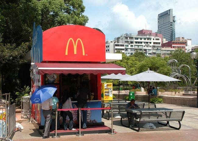 3日目の第2集。<br /><br />6月程の湿度はないものの、やはり真夏の香港ですね。<br />九龍公園内でのんびりと考えましたが、ちょっと歩いただけで汗ばんでバテバテです。<br />公園の中にあるマクドのデザート店に居座っちゃいました!(^灬^;