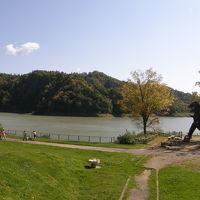 三笠の桂沢湖~岩見沢のりんご園  桂沢湖の巻
