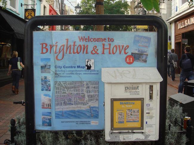 ロンドンからバスで日帰り旅行したブライトンの様子。<br /><br />----------------------------------------------<br />◆そちぷのイギリス・ロンドン旅行記<br />http://london.client.jp/<br />----------------------------------------------<br />
