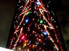 輝く夜景 ちばポートタワー ☆もうクリスマス気分になって