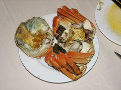 はい、来ました。上海蟹の季節です♪