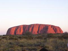 オーストラリア【14】(エアーズロック1日目)マウントオルガ散策&エアーズロックサンセットツアー♪