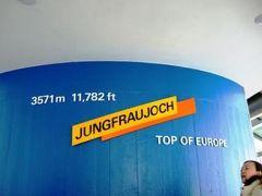 2007.12 冬の「ドイツ・スイス・フランス」9日間【7】…ユングフラウヨッホ編