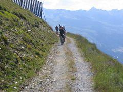 ダボス  ヴァイスフルーWeissfluhから、のんびりハイキング