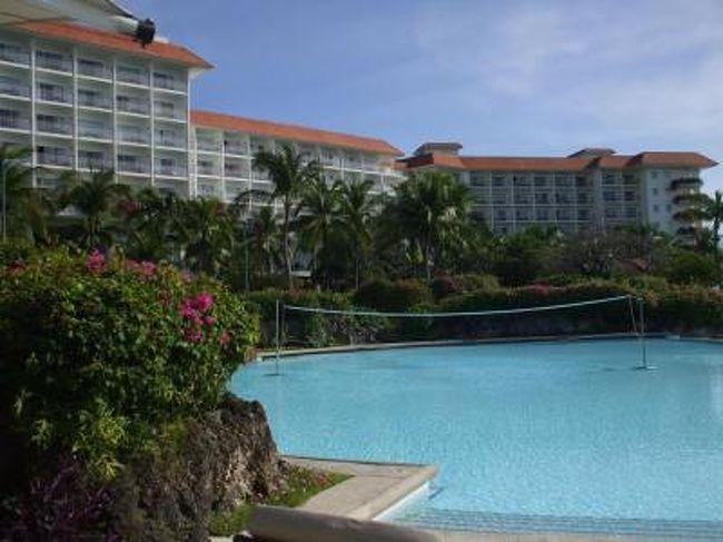 会社の皆と家族連れで初めてのセブ島旅行に行ってきました。<br />宿泊したのはシャングリラ・マクタン。<br />広くて快適なホテルでした。