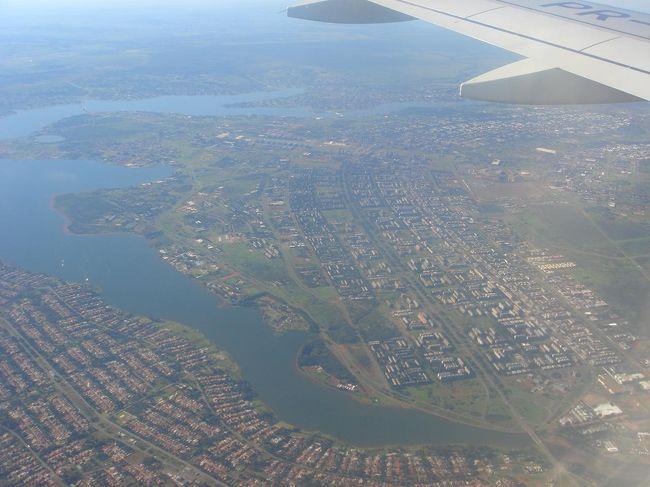 ジェット機型の人工都市ブラジリアとブラジルの原点の都市サルバドールへも行きました。