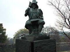 雨の熊本城