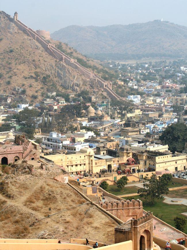 2008冬、インド旅行記(6):1月26日(4)ジャイプル、アンベール城