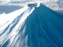 長崎空港へ JAL1841 84A  ☆輝く雪尾根・照返す水面を・・
