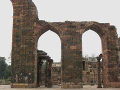 2008冬、インド旅行記(21):1月28日(3)デリー、クトゥブ・ミナール複合建築群