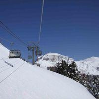 08年2月、群馬県利根郡の川場スキー場に行ってきました。