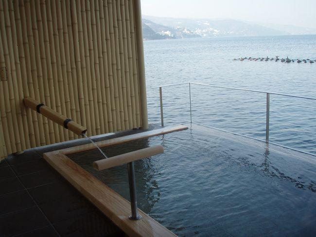 今年も恒例となった冬の伊豆の旅に行ってきました。今年は網代温泉にしました。2日間とも暖かくて、いいお天気に恵まれて、楽しかったです。<br /><br />
