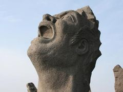 ひとり旅 [246] 九州縦断2200Kmの車旅【22】 <桜島[3]叫びの肖像・林芙美子文学碑>鹿児島市