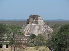 メキシコの旅(2)・・要塞都市カンペチェとウシュマル遺跡、カバー遺跡を訪ねて