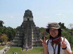グアテマラの旅(1)・・フローレス島とティカル遺跡を訪ねて