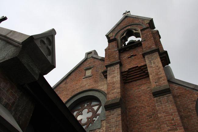 明治の初めの頃より津軽の学都として発展した弘前の町。中でもキリスト教系の学校である東奥義塾が古くから外国人教師や宣教師がいたこともあってか、弘前の町には古い素敵な教会が3つありました。ここでは、その3つの教会を紹介いたします。