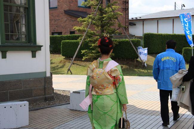 弘前の近代建築を訪ねて~チェリーブロッサムプリンセスとの遭遇~