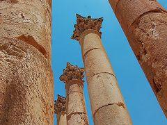 2008 ヨルダンの旅 (5) ~死海で浮遊体験&ジェラシュ遺跡