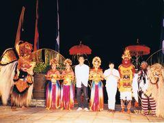 2001年7月 初めてのリゾートの旅、シンガポール+バリ8日間
