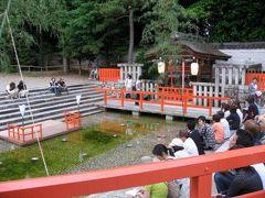 京都 下鴨神社 糺すの森蛍火の茶会