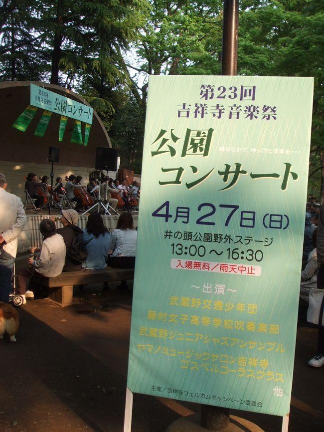 ホコ天ダンスライブのMCを終え、同時刻に開催されていた井の頭公園野外ステージへと伺った。