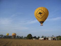 オーストラリア【24】(ケアンズ5日目)帰国日だけど、ぎりぎりまで遊ぶぞー!!「ホットエアー熱気球30分 エクスプレス」