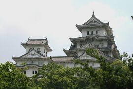 2008夏、世界遺産の姫路城(3):7月12日(3):西の丸、百間廊下、千姫と勝姫、西の丸からの天守群