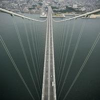 世界一の吊り橋、明石海峡大橋! ブリッジワールドに参加し、海上300mの高さを体験!!  /兵庫県神戸市垂水区 明石-鳴門ルート