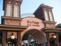 アトランタ Six Flags 遊園地
