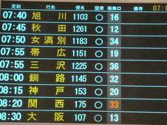 月末の羽田は混雑の空港でした