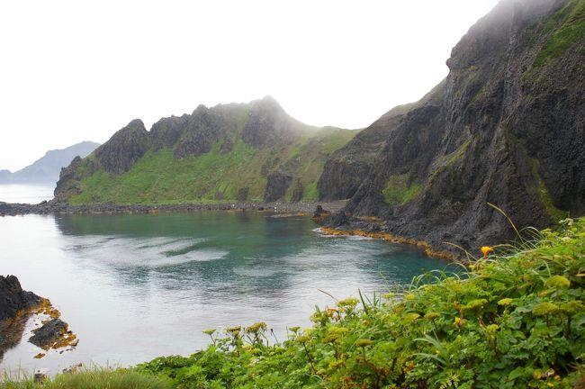 十数回礼文島を訪れているベテランの札幌在住Y.Mさんのアドバイスであこがれの礼文島への旅が実現しました。<br />礼文島内の旅館の手配をY.Mさんにお願いし、航空機、JR、ホテルと2ヶ月前から準備をしました。<br />3泊4日の予定でしたが、帰りの飛行機の便が確約できなかったので、1日延ばして旭岳をコースに組み込みました。<br />これがまた、大成功でした。<br />札幌から稚内をJR特急サロベツにしました。<br />約5時間30分の車窓の旅が北海道を満喫させてくれました。<br />天候がすぐれず、展望は望めませんでしたが、北の幸と高山植物は堪能できました。<br />島内は、レンタカー(軽自動車)でくまなく走破、要所要所で車を止めては、軽ハイキングをして花を楽しみました。<br />旅行記では、その1が島内の観光ポイント他、その2で高山植物の数々そして旭岳のお花畑を紹介します。<br />