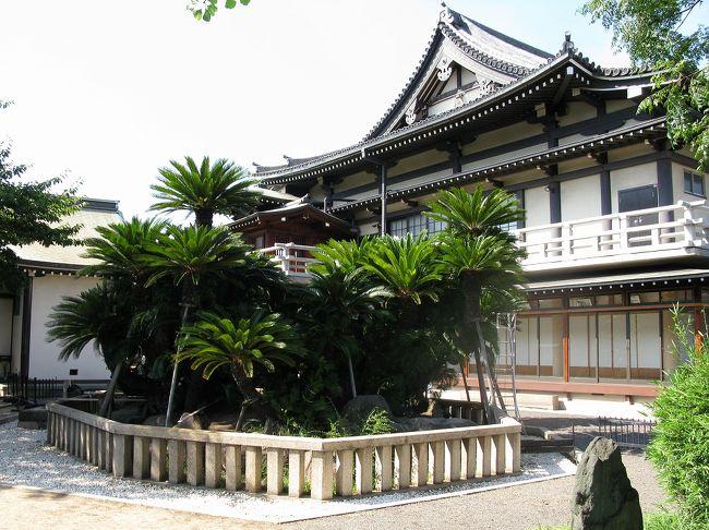 永禄5年(1562年)の創設。境内の大蘇鉄は、織田信長の所望で安土城に移植されましたが、毎夜「堺に帰りたい」と泣いたため、再び堺へ返されたという伝説の樹で、国指定の天然記念物です。日本で唯一の蘇鉄の枯山水があります。<br />また、慶応4年(1868年)の堺事件の土佐十一烈士の切腹の地としても有名です。11人は北隣の宝珠院に眠っています。